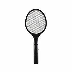 Електричний знищувач Lesko LS-002 Black для мух, комарів мухобойка
