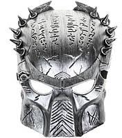 Маска Хищник, цвет серебро, фото 1