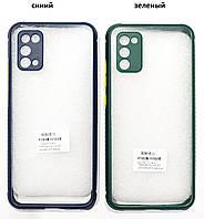 Чохол прозорий Miqilin case для Samsung Galaxy A02s A025F