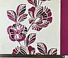 Яркие немецкие обои 935763, малиновые цветы и листья, с узором растений, на белом фоне, моющиеся виниловые, фото 2