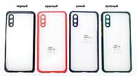 Чехол прозрачный Miqilin case для Samsung Galaxy A02 A022F
