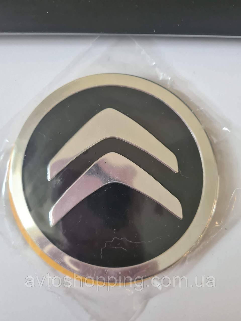 Наклейки на колпачки, заглушки, наклейки на диски 90 мм Citroen Ситроен