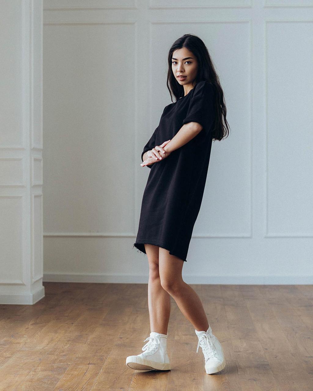Платье Кайли черное