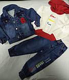 Костюм джинсовый нарядный супер модный для мальчика. Размеры 92.98.104.110., фото 2