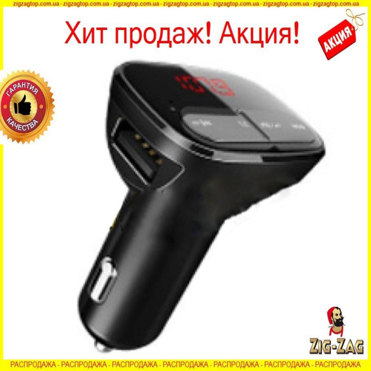 Автомобільний FM модулятор-трансмітер FM-M99 12v Original bluetooth + USB + microSD блютуз для всіх авто