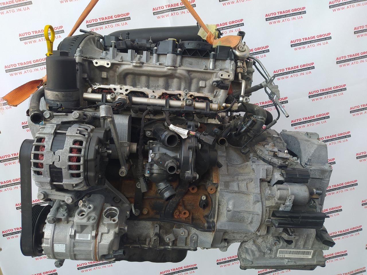 Двигун VW Jetta 1.4 Т мкпп 2018-2021 24к 04E-100-037-H