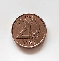 20 франков Бельгия 1994 г., фото 1