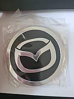 Наклейки на ковпачки, заглушки, наклейки на диски 90 мм Мазда Mazda