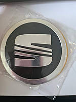 Наклейки на колпачки, заглушки, наклейки на диски 90 мм Seat Сеат