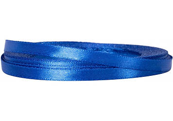 Стрічка атлас 0,5смх22м синя №MX62153-40