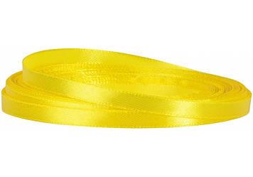 Стрічка атлас 0,5смх22м жовта №MX62157-15