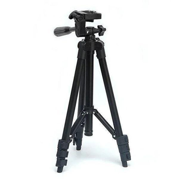 Штатив трипод для камеры фотоаппарата и телефона 3120A с чехлом, Штатив tripod для съемки