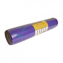 Йогамат коврик для йоги MS 1845-2-1 толщина 8 мм (Фиолетовый-1)
