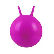 Мяч для фитнеса. Фитбол MS 0938  с рожками ( 0938(Violet) Фиолетовый)
