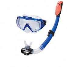 Набор для подводного плавания 55962 маска и трубка