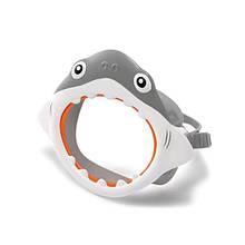 Детская маска для плавания Intex 55915 в виде морских животных (Акула)