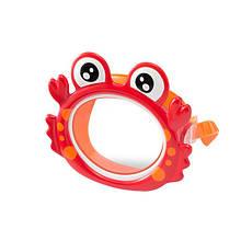Детская маска для плавания Intex 55915 в виде морских животных (Краб)