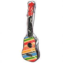 Дитяча Гітара 2508D в чохлі 57 см (Різнокольорові лінії)