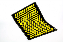 Коврик массажно-акупунктурный AIR MS-127 с желтыми фишками