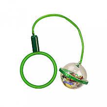 Дитяча скакалка. Нейроскакалка SA1003 на одну ногу (Зелений)