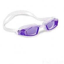 Окуляри для плавання Intex 55682 розмір L (Фіолетовий)