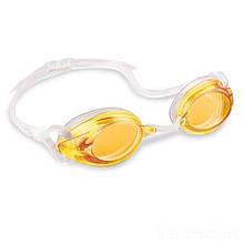 Дитячі окуляри для плавання Intex 55684, розмір L (Помаранчевий)