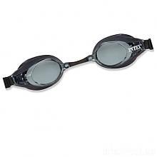 Дитячі окуляри для плавання Intex 55691 розмір L (Чорний)