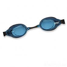 Детские очки для плавания Intex 55691 размер L (Синий)