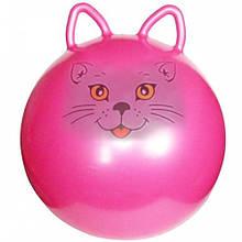 Мяч для фитнеса MS 0936 (Розовый кот)