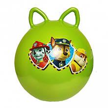 Мяч для фитнеса MS 1583-1 с ушками (Зеленый)