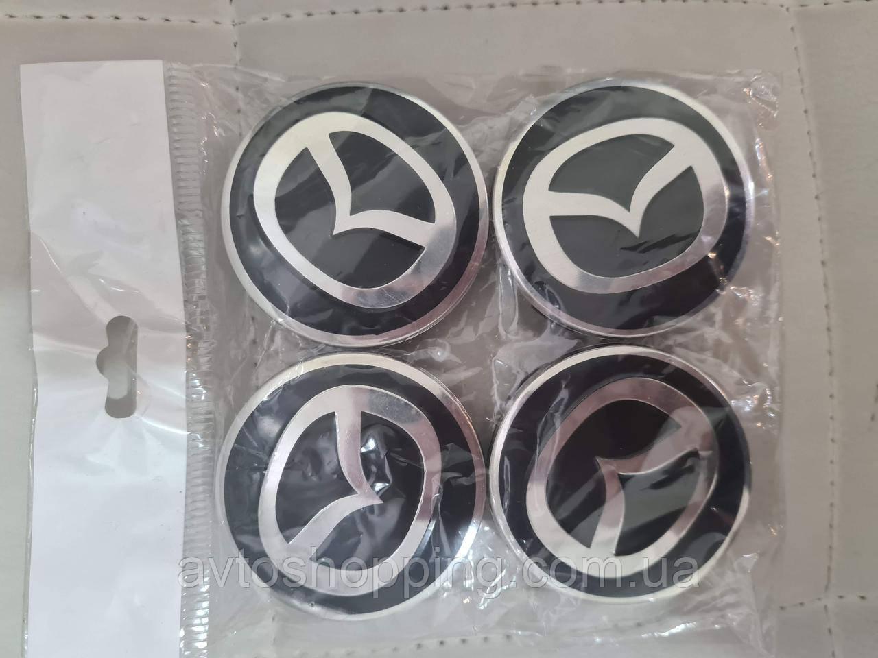 Ковпачки, заглушки на диски , Мазда Mazda 60 мм / 56 мм