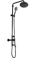 Черная душевая колонна со смесителем из нержавеющей стали MIXXUS SUS-009-J немецкий душевой гарнитур