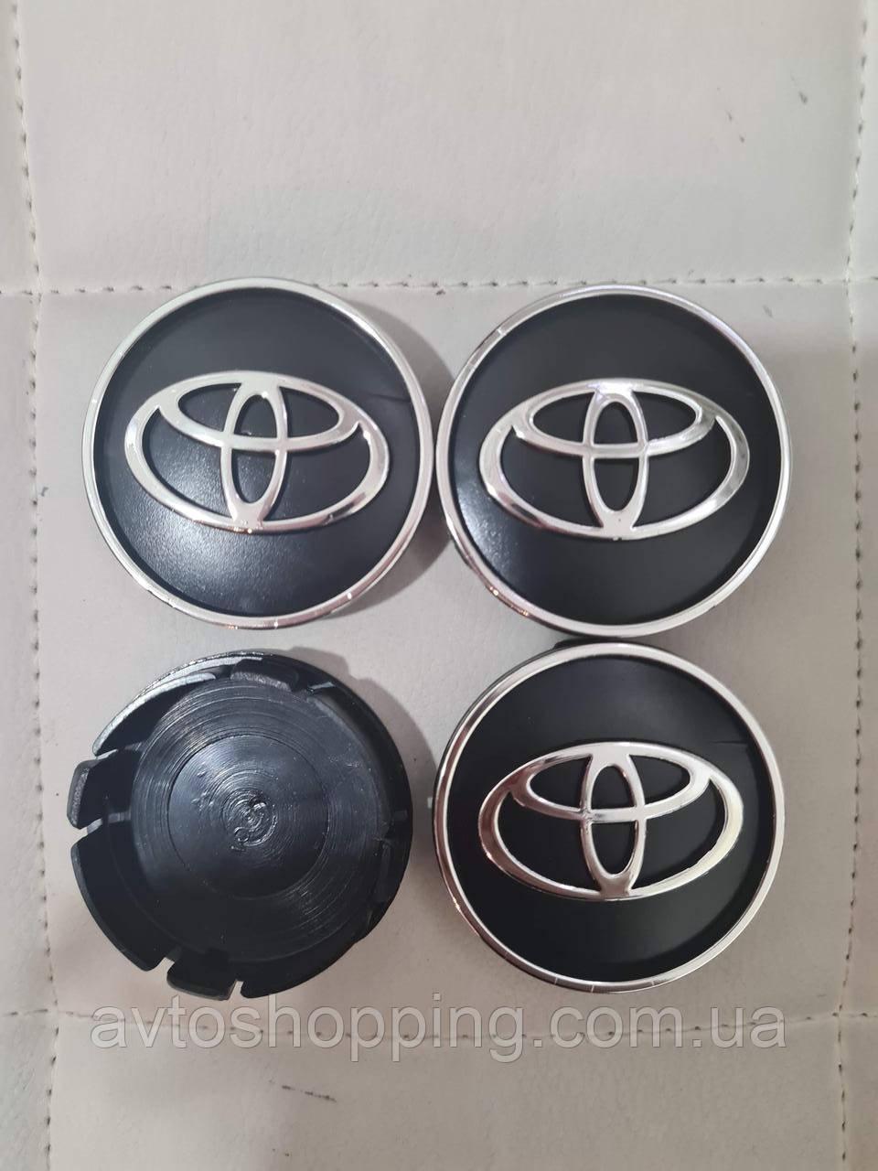 Ковпачки, заглушки на диски Toyota Тойота 60 мм / 56 мм