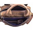 Чоловіча сумка з натуральної шкіри, фото 8