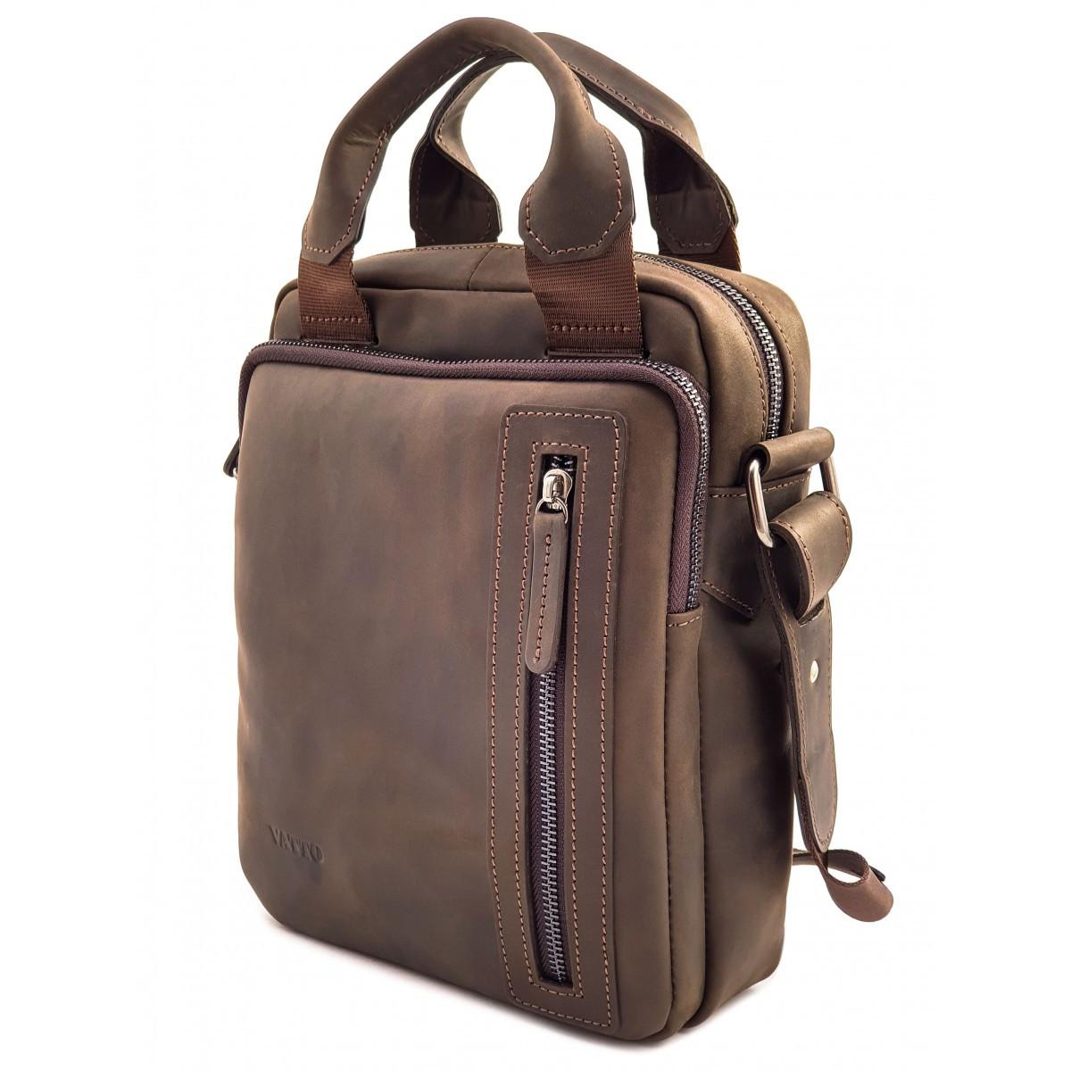 Чоловіча сумка з натуральної шкіри