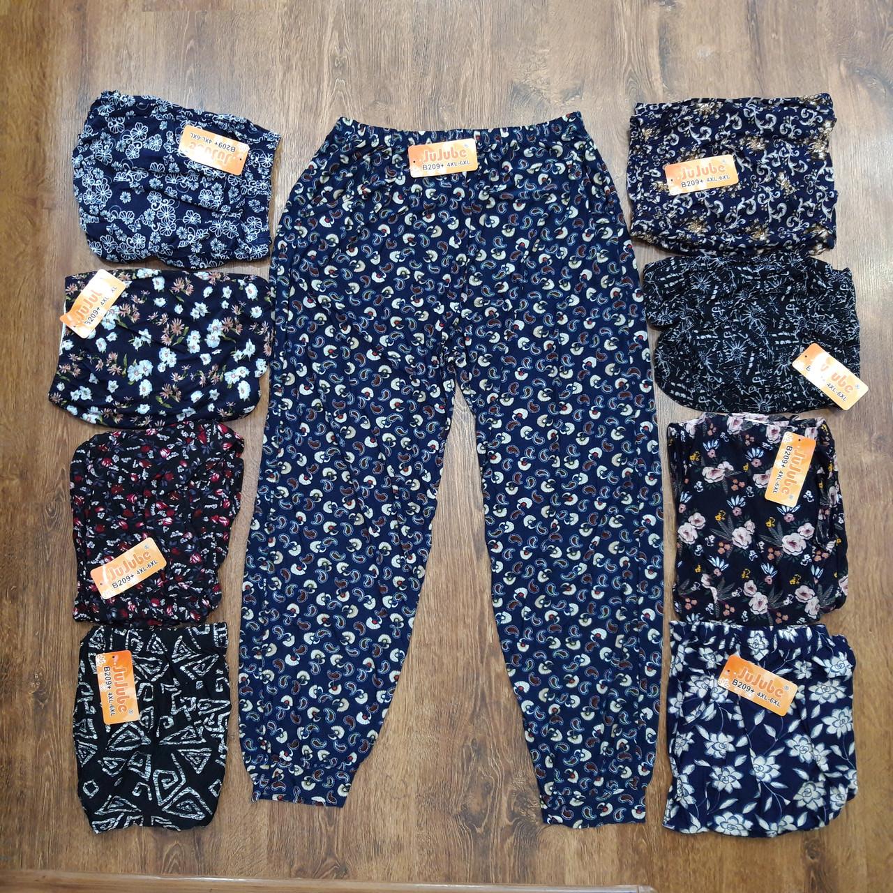 """Жіночі брюки-султанки,батали """"Jujube"""" 4XL-6XL(54-60) Art-209+"""