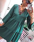Женское платье, софт, р-р универсальный 42-46; 48-52 (зеленый), фото 3
