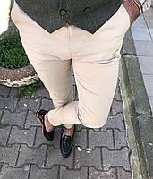 Мужские брюки бежевые Турция