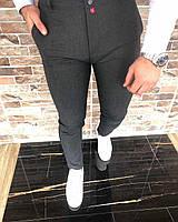 Мужские брюки темно серые Турция