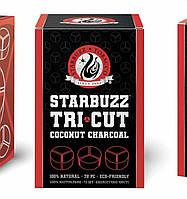 Уголь кокосовый Starbuzz - Tri Cut (72 кубика под калауд)