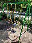Гойдалки дитячі на підшипниках, двомісні. ., фото 6