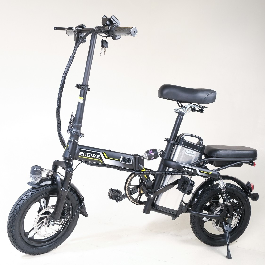 "Электровелосипед Energy CY 14"" | электрический велосипед Энерджи складной со съемной батареей, сити-байк"