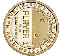 США 1 доллар Ральф Баер, отец видеоигр