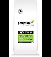 PET NATURE Збалансований сухий корм для дорослих собак всіх порід «Регуляр» 3кг