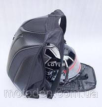 Моторюкзак чорний OGIO (Збільшений обсяг) 33х16х48 c дощовиком в комплекті