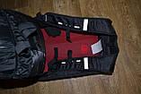 Моторюкзак черный Kawasaki (Увеличенный объём)  33х16х48 c дождевиком в комплекте, фото 6