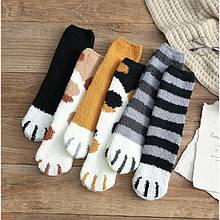 Шкарпетки з ворсом у вигляді котячих лапок, розмір 36-39, 1 пара