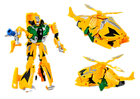 Робот Трансформер Change Deformation Hurricane Желтый, фото 2