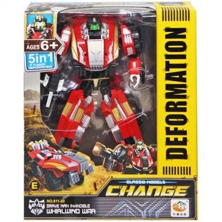 Робот Трансформер Change DeformationWhirlwind war Красный