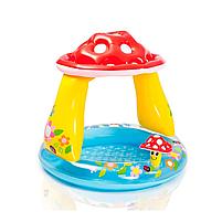 """Дитячий Надувний басейн Intex """"Гриб"""" з навісом 102 х 89 см 45 л від 1 до 3 років, фото 3"""